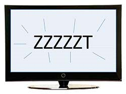 zzzzzzzz: the sound of static on the TV